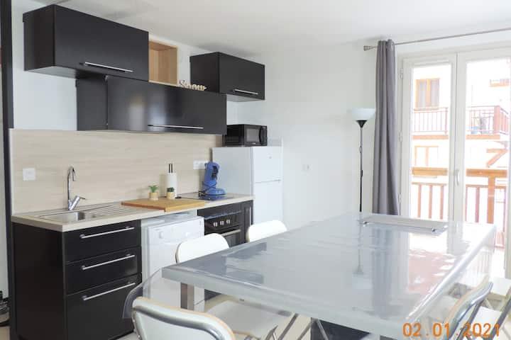 Appartement chaleureux 6 personnes Valfrèjus