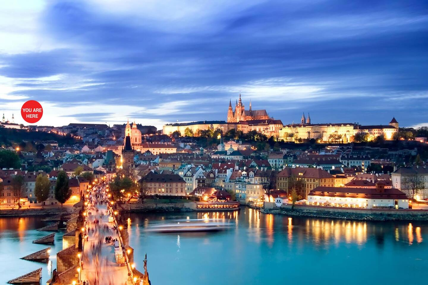 Our apartment/flat is right near the Prague Castle & short walk to Charles Bridge.