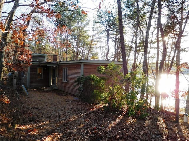 Mid-Century Modern Truro on Great Pond