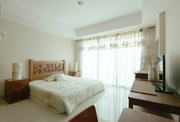 Modern-Ethnic Studio Unit in South Jakarta