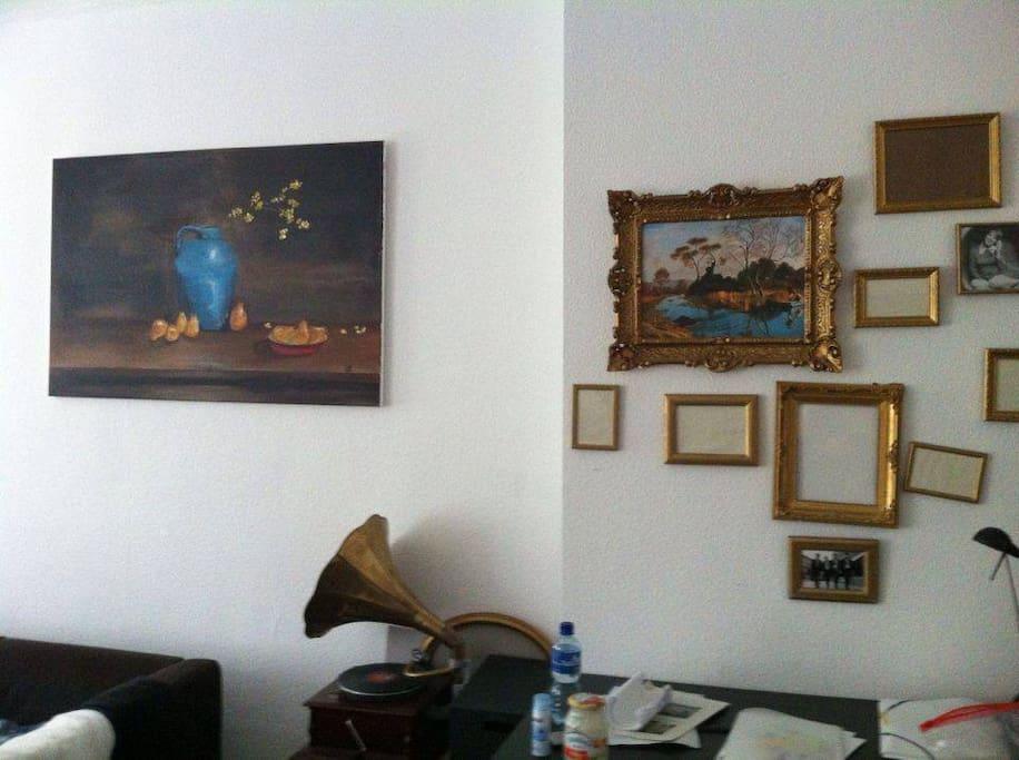 Zimmer 2 mit Wanddeko
