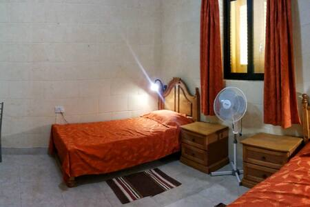 Yellow Door, Orange Room, Xaghra, Gozo