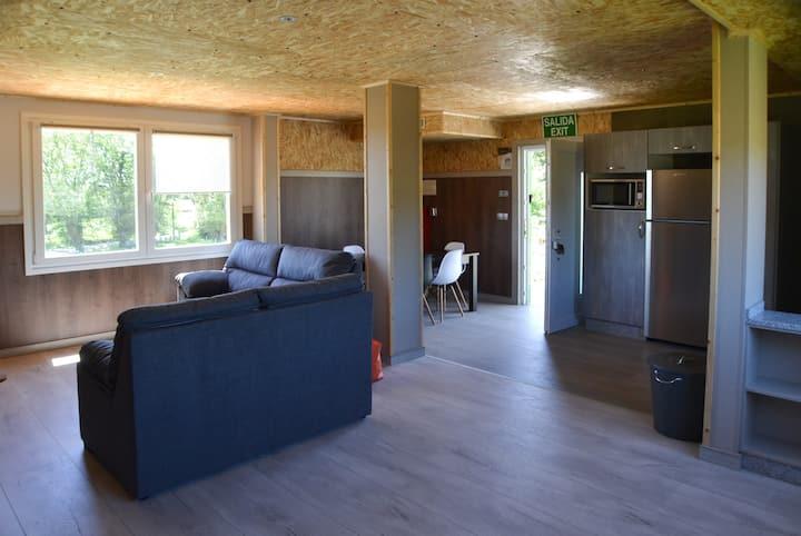 Apart. 3 habitaciones Celtainer Arbol de la Vida
