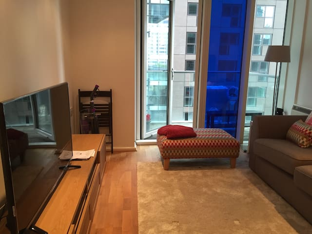Cozy one bed near Canary Wharf - Londen - Appartement