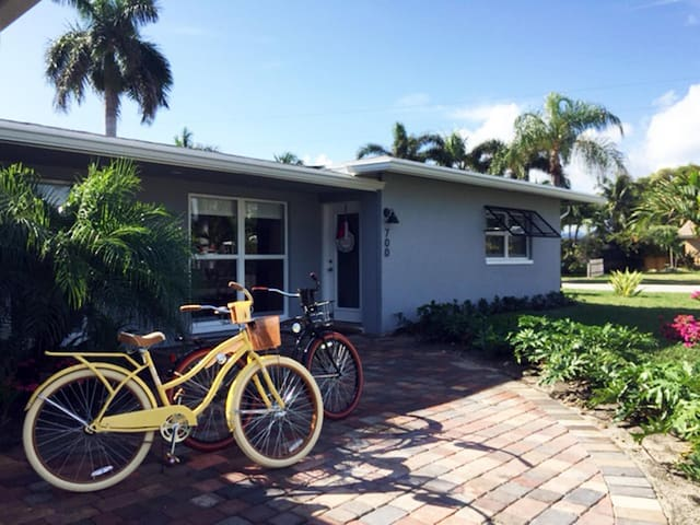Turtle Harbour - East Boca Raton (Pool and Tropical garden View) Private entrance - Business travel amenities - Boca Raton - Villa