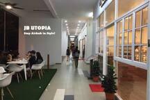 1st floor Cafe & Restaurant.