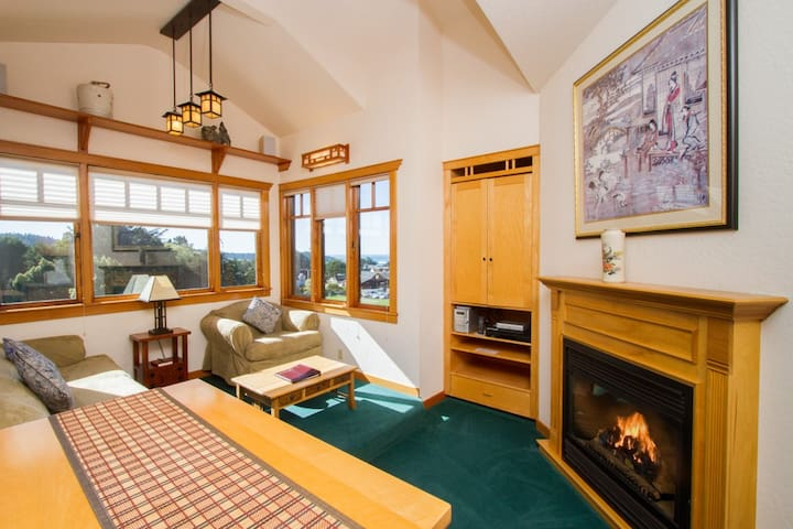 Ocean-View Luxury Suite (East) - Mendocino - Wohnung