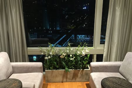 Luxury 1 BR duplex high floor ❤️BKK - Bangkok