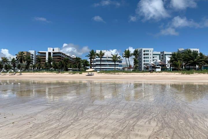 Ponta de Campina, apartamento em frente à praia