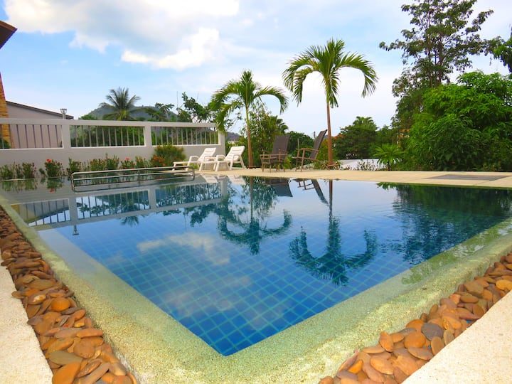 LAMAI Beach - Amazing pool villa 3 bedrooms