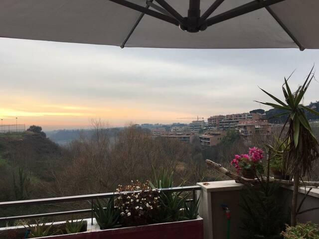 Roma Nord bedrooms - La Giustiniana - Lägenhet
