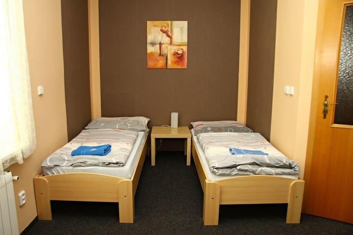 Dvoulůžkový pokoje Eco twin