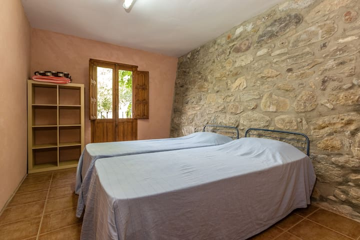 Alberg La Solana - B12 - Habitación Cuádruple - 2 Literas Extensibles (4 Adultos) - Salàs de Pallars - Apartamento