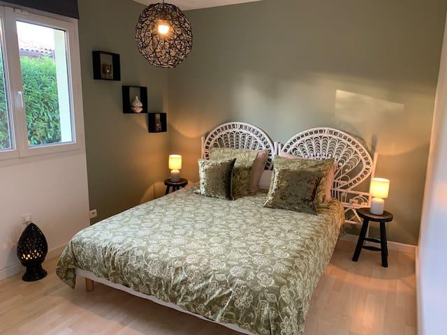 Chambre 2 lit 160x200cm