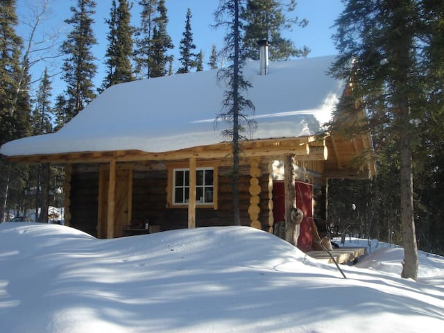 Rustic & Cozy Log Cabin - Whitehorse - Hut