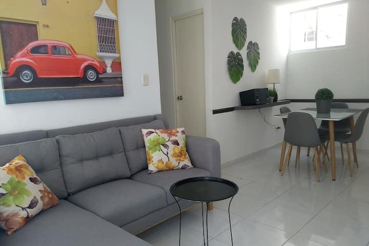 CH2-Hermoso y moderno apartamento amoblado.