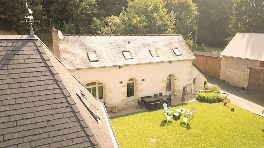 Gite Nature Loire et Châteaux proche de Tours 3*