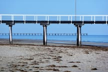 Largs Bay and Semaphore jetties