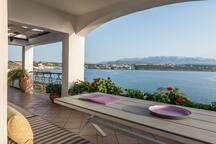 View to Kalathas Bay