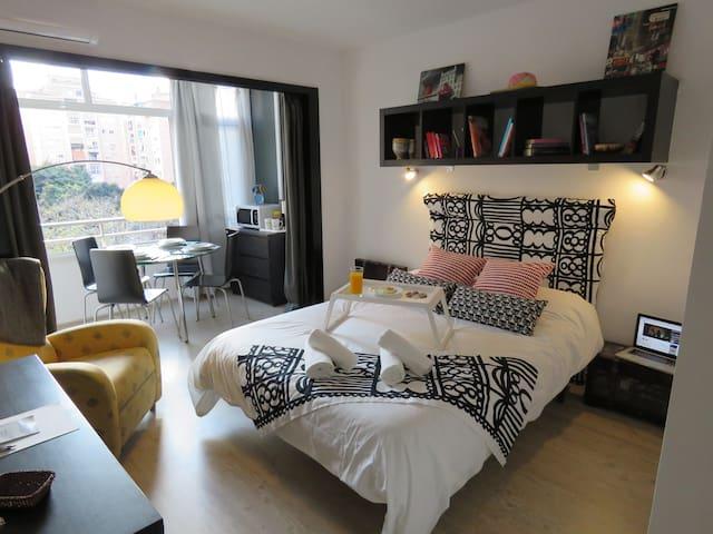 Apartamento con Amor en Torremolinos de 1 a 4 p.