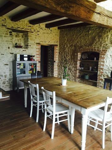 2 Jolies chambres près du Mans - Brains-sur-Gée - Casa