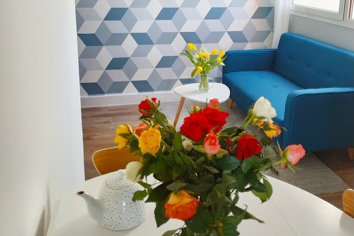 T2 30 M2 NEUF ET COSY campagne/ ville/Mer