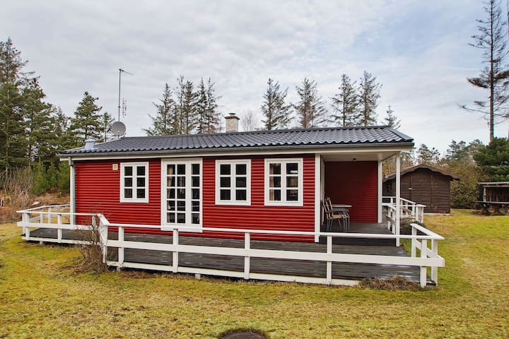 Rustic Holiday Home in Hemmet Near Fjord
