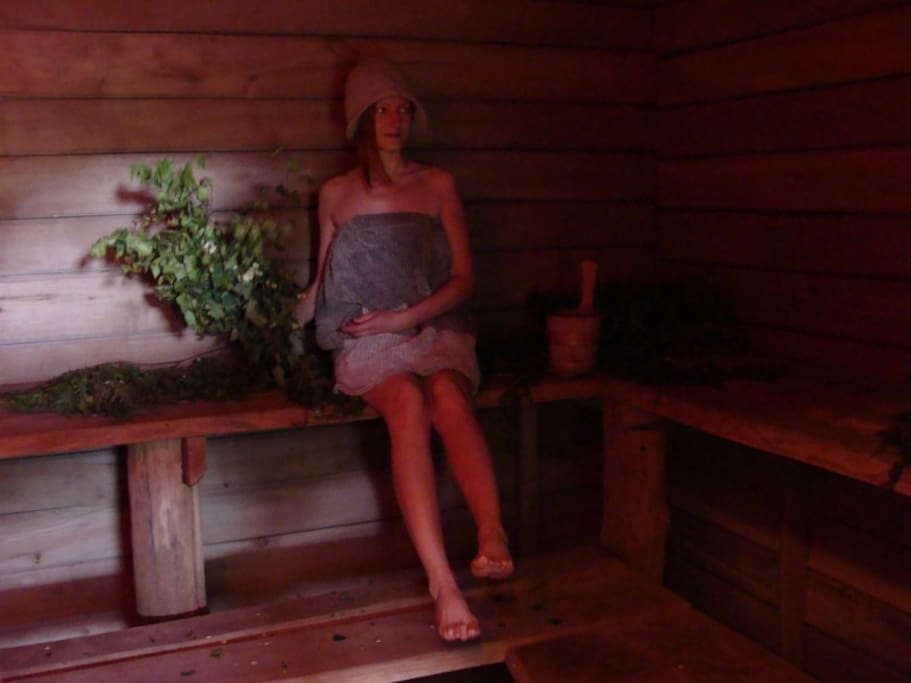 Host and an expert of sauna procedures.