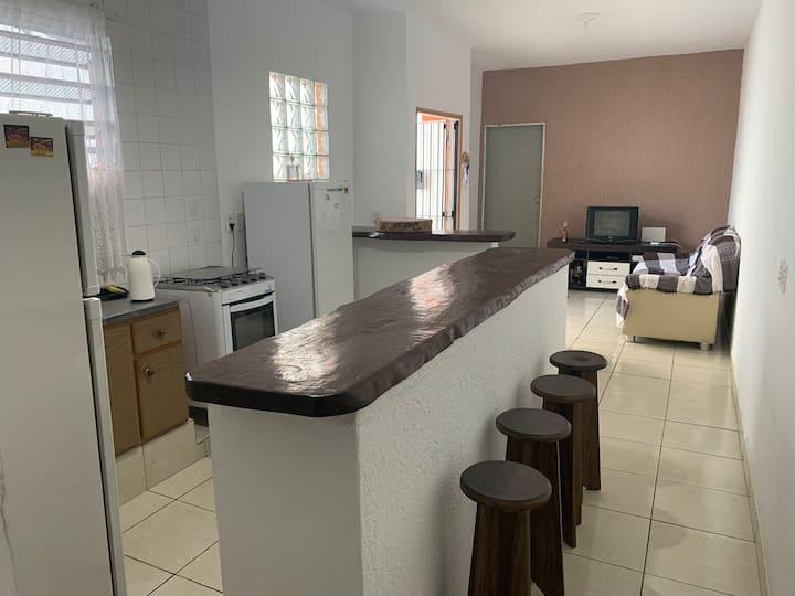 Casa próxima à praia de Bopiranga (800mts)
