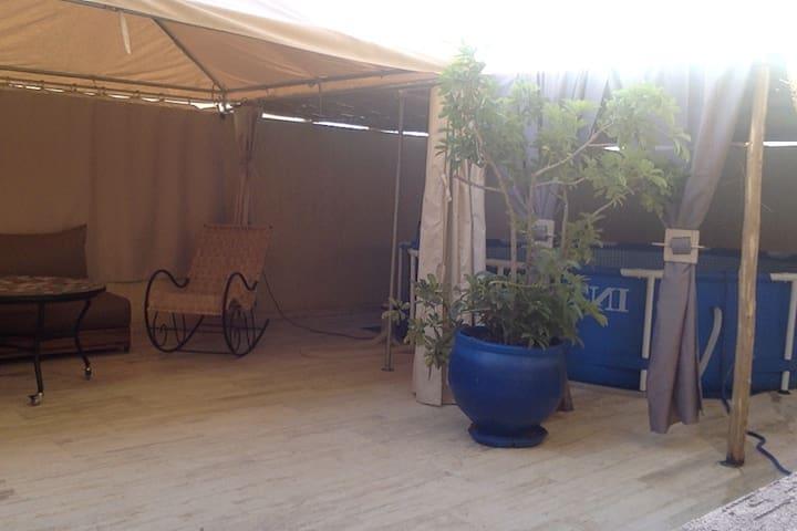 Appart Grande Terrasse Piscine Privées prés Rabat.