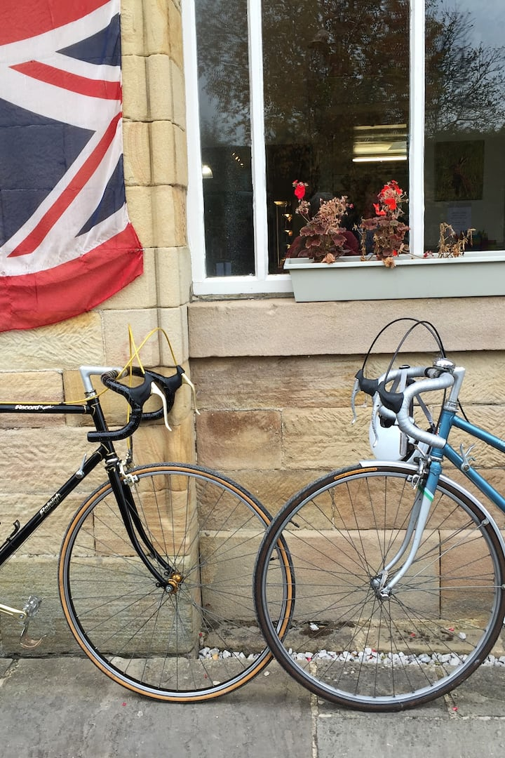 British retro road bikes