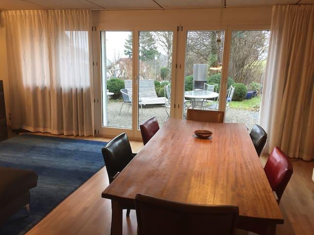 Ruhiges Einfamilienhaus in der Nähe von Zürich