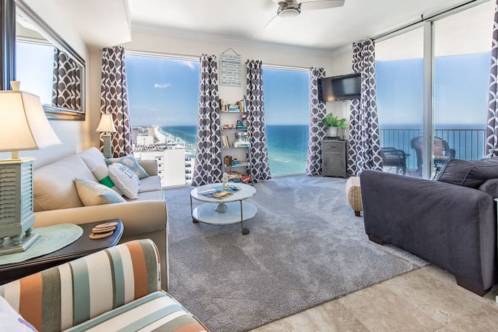 ☀Tidewater 2718-1BR+Bunks☀Beach Front Updated! Dec 13 to 15 $437 total! Views!