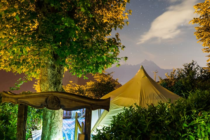 "Chalet Martin ""Glamping"" Bell Tent"