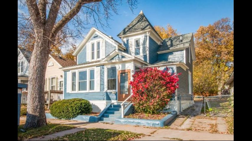 Cozy and Convenient Saint Paul Victorian Home