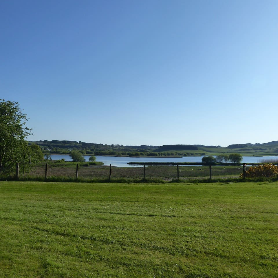 View of Loch Ken from the garden.