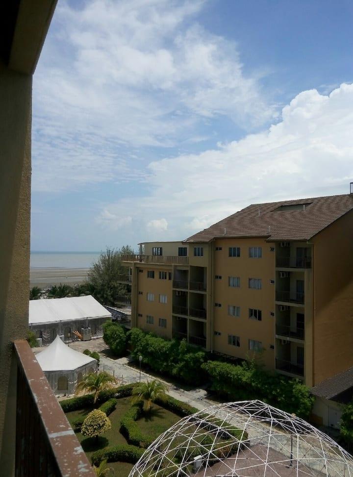 Gold Coast Morib Resort 2 rooms Apartment.