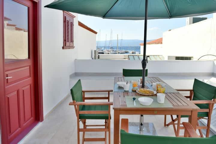 Hydra port apartments - Aphrodite