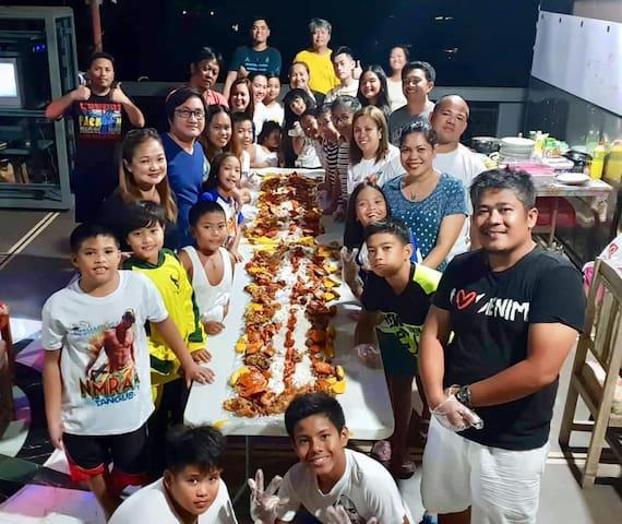 Valencia, Bukidnon group December 2018 - Last night Boodle Feast!  NMRAA 2018 Sports Event.