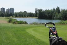 Langara Golf Course. A short walk away.