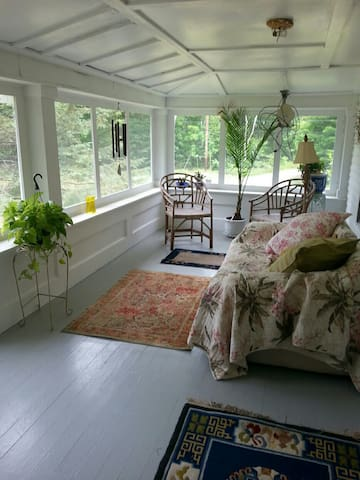 Welcome to enjoy the screen porch