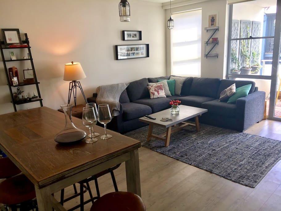 Open plan living / dining
