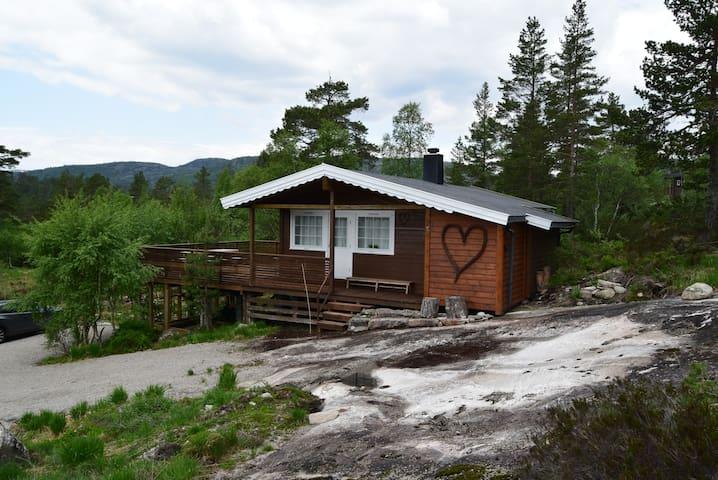 458,Koselig liten hytte på Bortelid