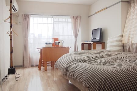 Cozy&Relax 5 mins to Toshogu One Stop Sendai - Sendai-shi - Appartement