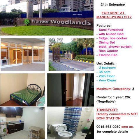 Condo Connected to Boni MRT - PH - Apartament