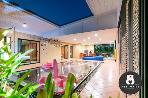 Pool Villa Price 3900 Best of Hua Hin 10 people can stay