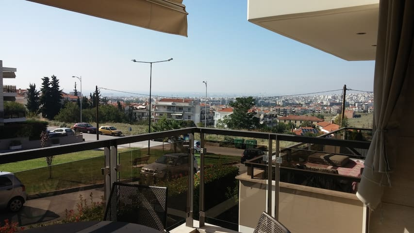 elegant maisonette with amazing view