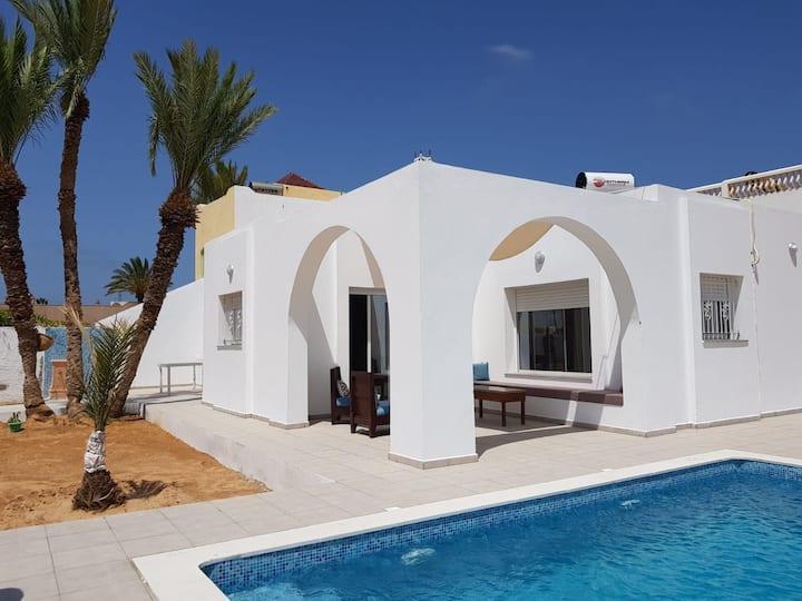 Dar Zinou, splendide maison à l'île de Djerba