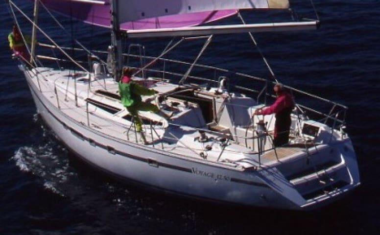 Day Charter Sailing Boat with Captain & Stewardess