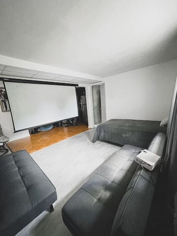 2 sofa couch / full bed